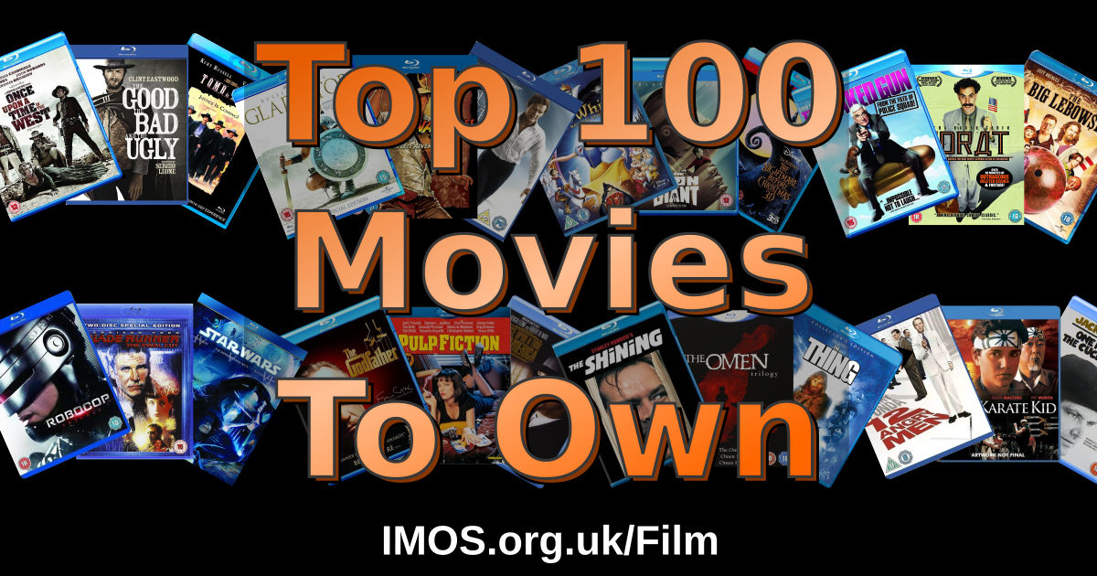 Top 100 Movies To Own